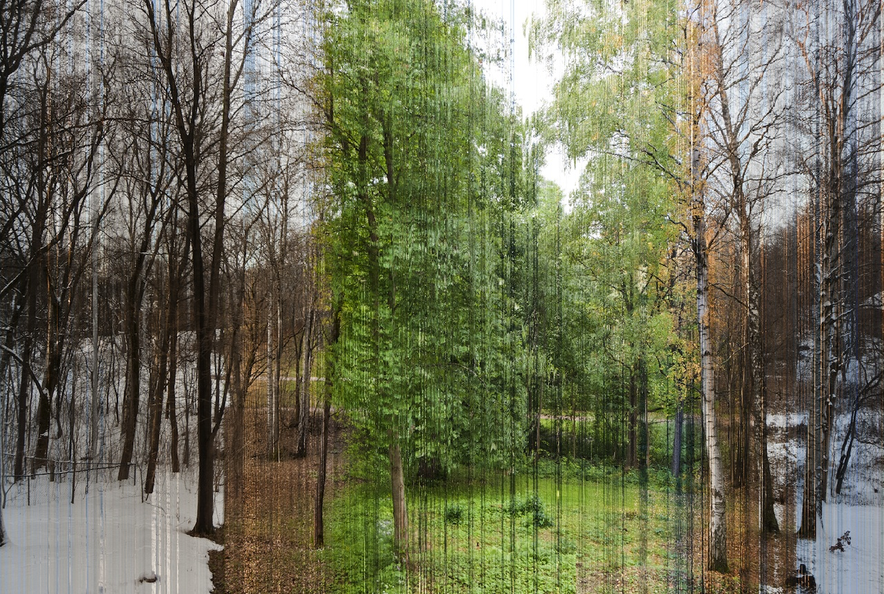Photographer Visualizes One Year in a Single Picture